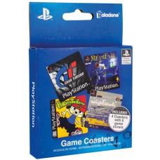 Набор подставок под напитки Playstation Game (4 шт)