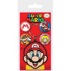 Подарочный набор Super Mario - Mario (брелок / значки)