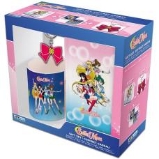 Подарочный набор Sailor Moon (кружка + брелок + ежедневник)