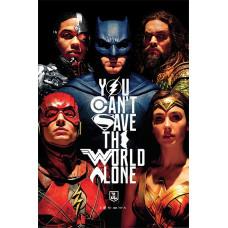 Постер Justice League - Save The World (61x91.5 см)