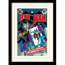 Принт в рамке Batman - Joker's Back In Town (30x40 см)