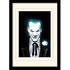 Принт в рамке DC: Comics - Joker Suited (30x40 см)