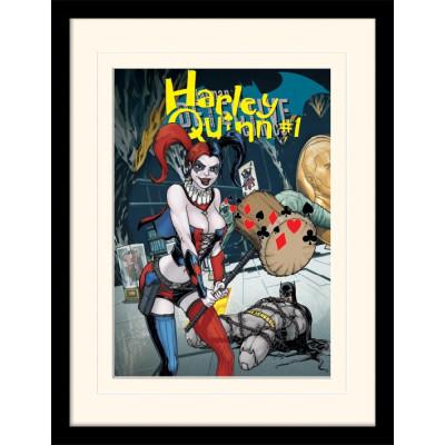 Принт Pyramid в рамке Justice League - Harley Quinn #1 MP11596P (30x40 см)