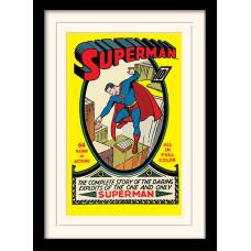 Принт в рамке DC Comics - Superman No.1 (30x40 см)