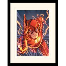 Принт в рамке The Flash - Zoom (30x40 см)