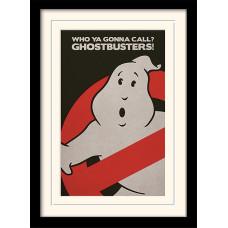 Принт в рамке Ghostbusters Logo (30x40 см)