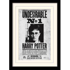 Принт в рамке Harry Potter - Undesirable No1 (30x40 см)