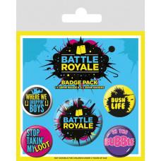 Набор значков Battle Royale - Infographic (5 шт)