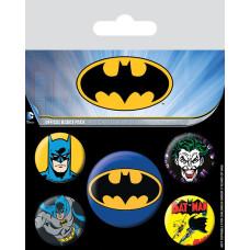 Набор значков DC Comics - Batman (5 шт)