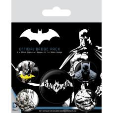 Набор значков Batman - Dark (5 шт)