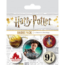 Набор значков Harry Potter - Gryffindor (5 шт)