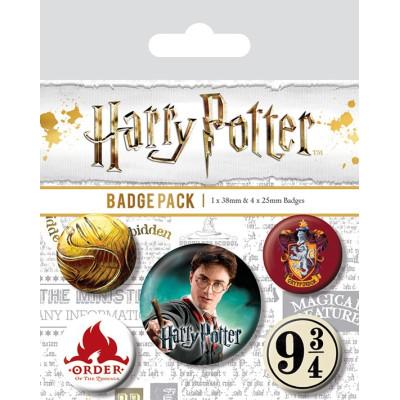 Набор значков Pyramid Harry Potter - Gryffindor (5 шт) BP80486