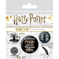 Набор значков Harry Potter - Symbols (5 шт)