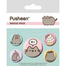 Набор значков Pusheen - Pusheen Says Hi (5 шт)