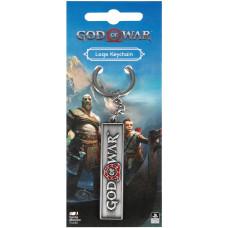 Брелок God of War (2018) Logo (6 см)