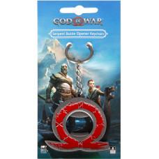 Брелок God of War - Serpent Bottle Opener (5 см)