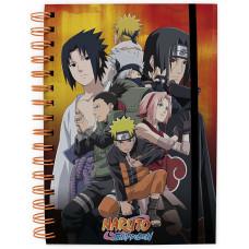 Блокнот Naruto Shippuden - Konoha group