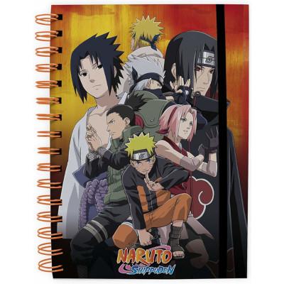 Блокнот ABYStyle Naruto Shippuden - Konoha group ABYNOT007