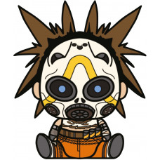 Мягкая игрушка Borderlands 3 - Stubbins - Female Psycho (16 см)
