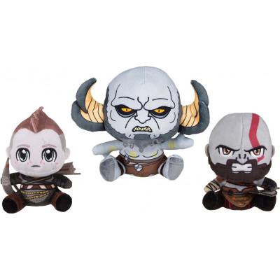 Набор мягких игрушек God of War - Stubbins - Kratos / Atreus / Troll (15-20 см)
