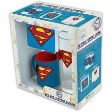 Подарочный набор DC Comics - Superman (кружка / подставка под напитки / стакан)
