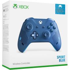Геймпад беспроводной для Xbox One (Sport Blue)