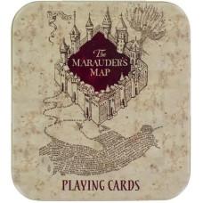 Игральные карты Harry Potter - The Marauder's Map