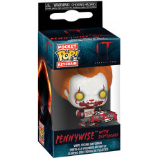 Брелок IT 2 - Pocket POP! - Pennywise with Skateboard (4.5 см)