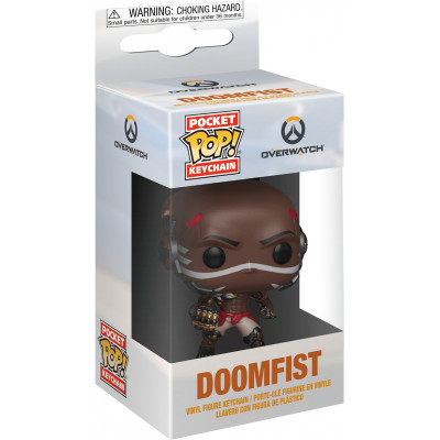 Брелок Funko Overwatch - Pocket POP! - Doomfist 37441-PDQ (4 см)