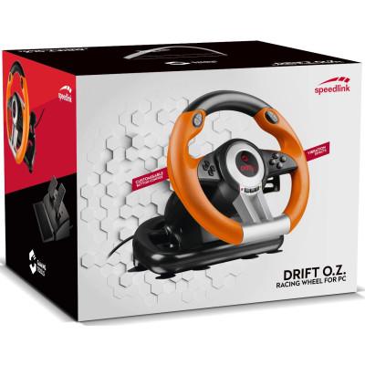 Руль Speedlink гоночный Drift O.Z для PC SL-6695-BKOR-01