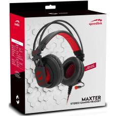 Гарнитура стерео игровая проводная Speedlink MAXTER для PC