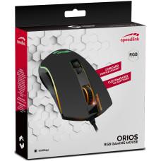 Мышь игровая RGB проводная Speedlink Orios