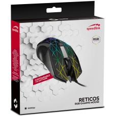 Мышь игровая RGB проводная Speedlink Reticos