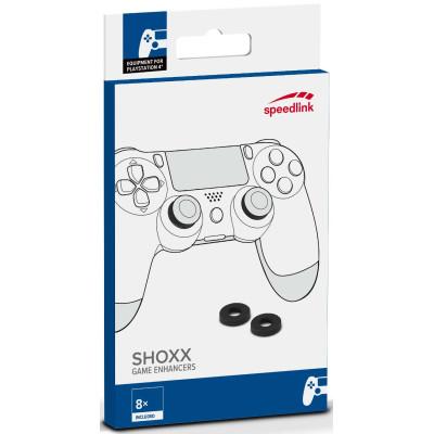 Амортизатор Speedlink Пенопластовый Shoxx для аналоговых стиков PS4 / PS3 / Xbox One (8 шт) SL-450800-BK