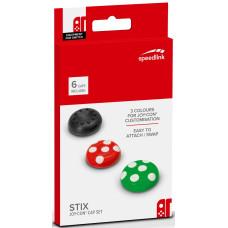Сменные накладки Speedlink Stix для контроллера Joy-Con NS (6 шт)