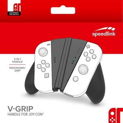 Крепление Speedlink V-Grip для контроллера Joy-Con NS SL-330602-BK