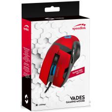 Мышь игровая проводная Speedlink Vades (red)