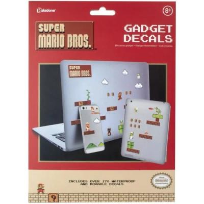 Набор наклеек Paladone Super Mario Bros - Gadget Decals PP4916NN