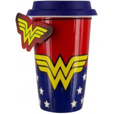 Кружка дорожная Wonder Woman