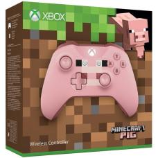 Геймпад беспроводной для Xbox One (Minecraft Pig)