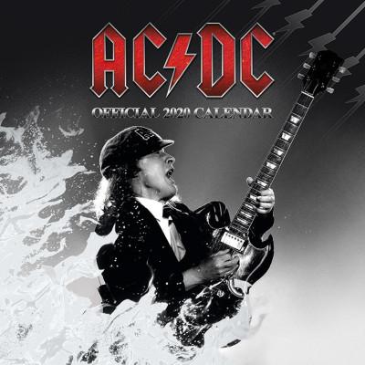 Календарь Pyramid AC/DC (2020) C20011 (30x30 см)