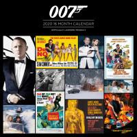 Календарь James Bond (2020) (30x30 см)