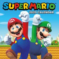 Календарь Super Mario (2020) (30x30 см)