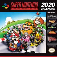 Календарь SNES Games (2020) (30x30 см)