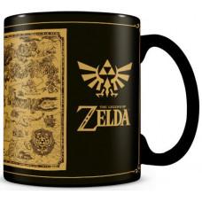 Кружка The Legend of Zelda - Map (Heat Changing)