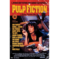 Постер Pulp Fiction - Cover (61x91.5 см)