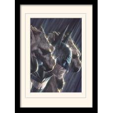 Принт в рамке DC Comics - Gotham's Protector (30x40 см)