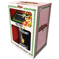 Подарочный набор The Legend Of Zelda (Retro) (кружка/подставка под напитки/брелок)