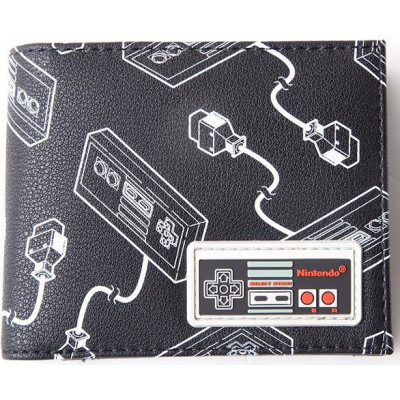 Кошелек Difuzed NES Controller (AOP) (with Rubber Patch) MW663550NTN