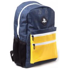 Рюкзак со сплошным принтом Playstation Icons (Colour Block)